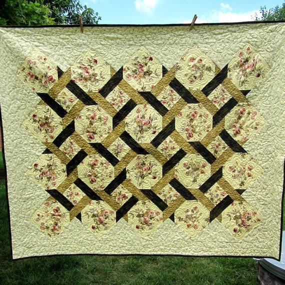 Garden trellis quilt price reduced for Garden trellis designs quilt patterns