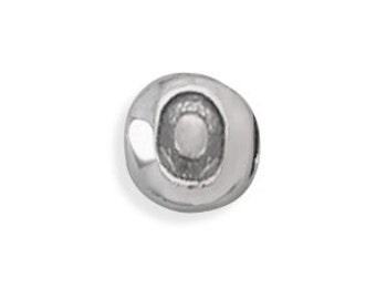 Round Sterling Silver Number Beads, Number Beads, Round, Sterling Silver, 8mm, Digits, You Pick, 0, 1, 2, 3, 4, 5, 6, 7, 8, 9, Crafting