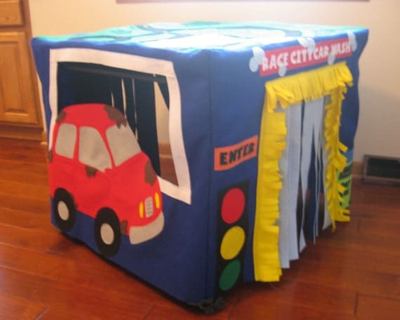 Car Wash Card Table Playhouse, Custom Order
