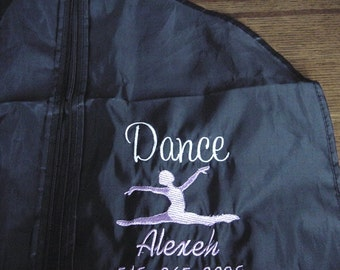 Dance Dancer Ballet Ballerina Costumes Competitions Garment Dress Bag Personalized Embroidered