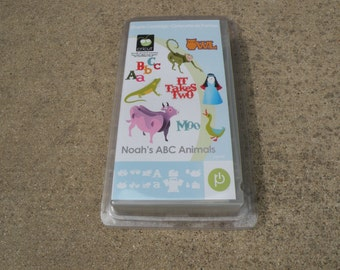 Cricut Cartridge, Noah's ABC Animals