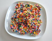 White Chocolate Rainbow Sprinkle Drops 2 Dozen