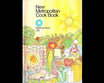 New Metropolitan Cook Book - Vintage Recipe Book c. 1973