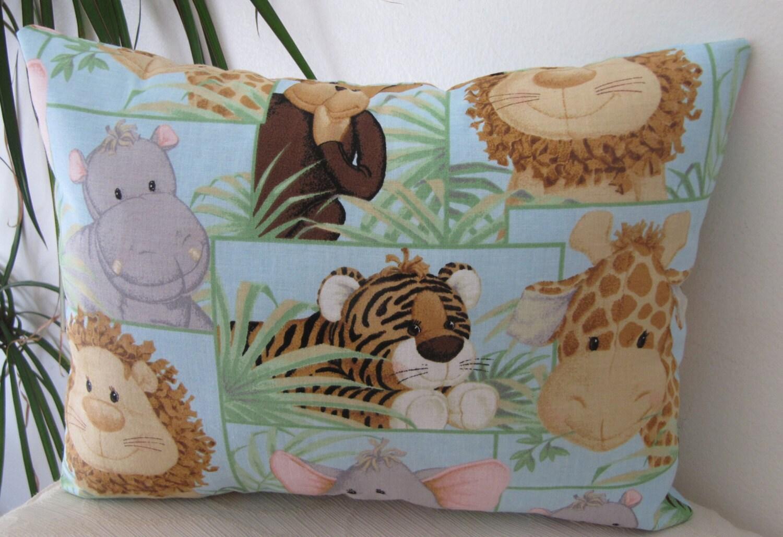 Jungle Babies Animals Travel Pillow Toddler Pillow