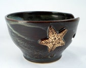 Starfish on yarn bowl Made to order