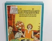 Vintage Phlounder Game 1962 3M Minnesota Mining and Manufacturing Family Table Game Vintage Game Night
