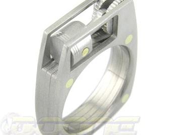 WORKING Titanium Piston Ring