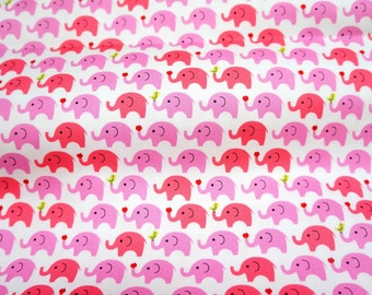 Elephant Print Japanese fabric  (n321)
