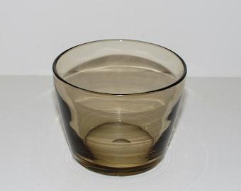 Vintage Johansfors Bengt Orup Smoke Glass Ice Bucket