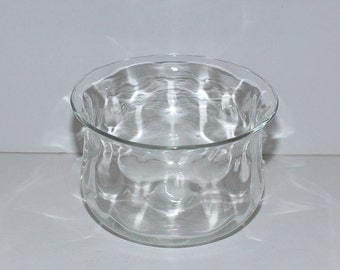 Vintage Thomas Webb Glass Bowl, circa 1930s-1940s