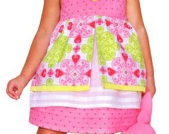 Clearance PATTERN GIRLS Ava Summer Dress