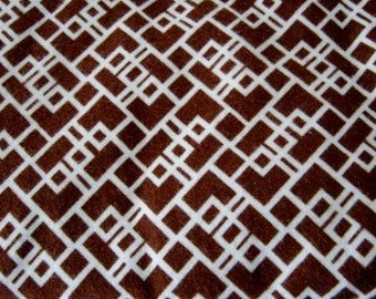 Swaddler Extra Large Brown and Cream Geometric