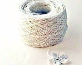 Crochet Thread 3 Ply Linen Thread White Linen Yarn Specialty Tread Tatting Thread