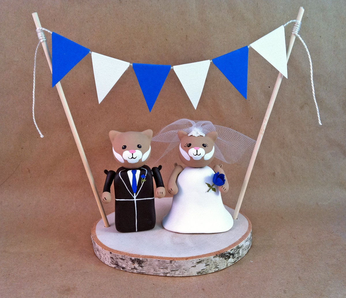 College Mascot Wedding Cake Topper University Of Kentucky