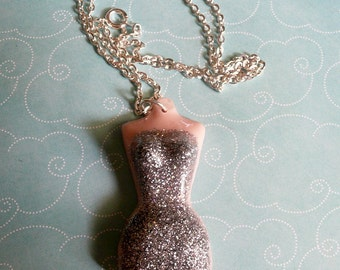 Put On Your Party Dress Form Necklace