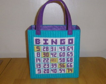 Bingo Tote Bag PATTERN ONLY