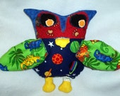 Lil' Impressions WhoWho, (Owl) Stuffed animal pillow, COSMIC