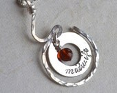 Midwife Necklace Sterling Silver