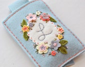 DIY Phone Case, Cell Phone Sleeve, Gadget Cover, DIY Sewing KIT, Embroidery Kit, IPhone Case, Felt Cozy, Needlecraft Kit
