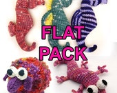 All the Flat Knit Patterns Instant PDF Downloads