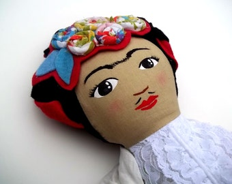 Frida Kahlo Doll, Made to Order