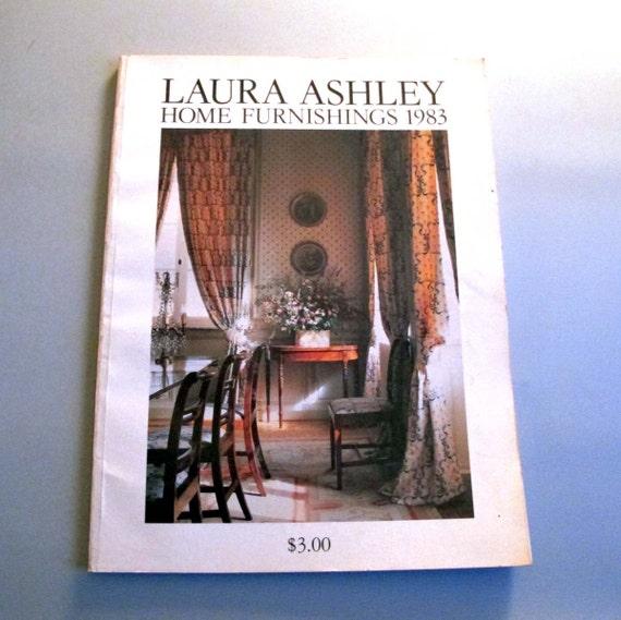 Home Furnishing Catalog: Laura Ashley Home Furnishings Catalog 1983 By