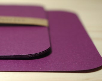 Blackcurrant Flat Cards / Size 11B / 10/Pk