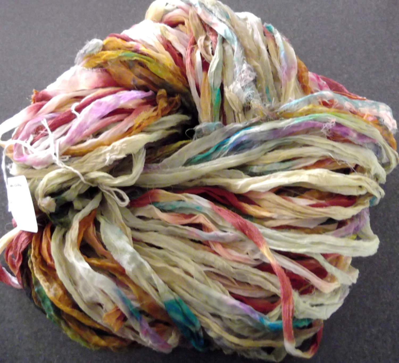 Silk Chiffon Ribbon Yarn 50 Grams