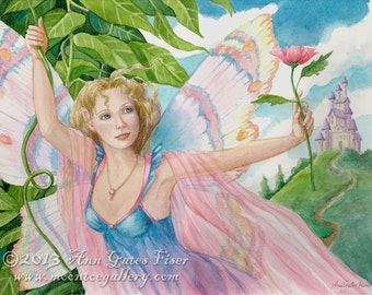 Beauty- A Signed Fantasy Giclee Art Print