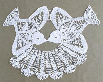 Lovebird Doily Crochet Pattern PDF