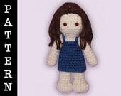 Crochet Pattern - Amigurumi Newborn Bella Doll
