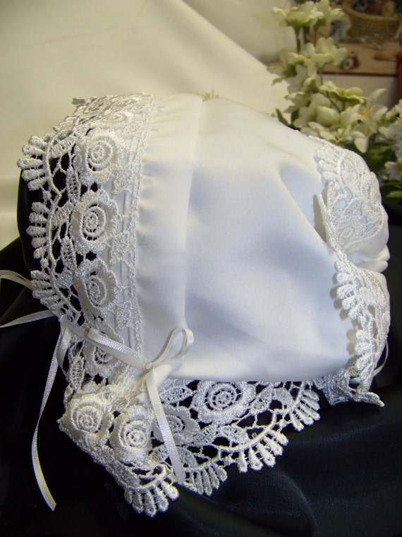 Baby Hankie Handkerchief Magic Bonnet Turns By