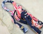 Japanese Chirimen Cording - Necklace or Bracelet Cord Kimono Fabric 808C