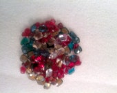Swarovski Crystals - rectangle, mixed colors and sizes -- 30% off with code CASTLES2013