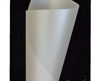 Curious Translucent Iridescent PEARL Card Stock 8.5x11 - 25 pk