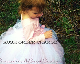Rush Order Charge - Add on for PrincessDoodleBeans Custom Order - expedited service