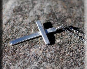 Tiny Silver Cross