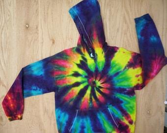 Tie Dye Rainbow Hoodie