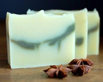 Absinthe - organic soap, vegan soap, licorice fennel anise essential oils