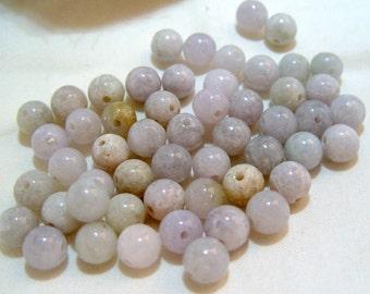 Full Strand of Natural Blue Aventurine Gemstones 8 mm (182)