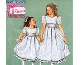 Girl's Dress Sewing Pattern - Easter Dress Pattern - Simplicity 5039 - Size 5,6,7,8 - Uncut, Factory Folded