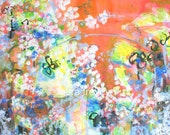 Garden Party Giclee on Canvas