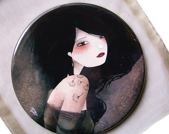 Lily - Pocket Mirror