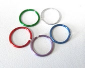 Endless Hoop Nose Ring 20 Gauge - Personalized Color