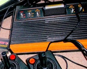 1978 Atari game system Tested and Working model CX2600