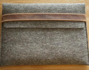 Kindle Fire HD 10 Felt Sleeve - LACE (Organic Leather)