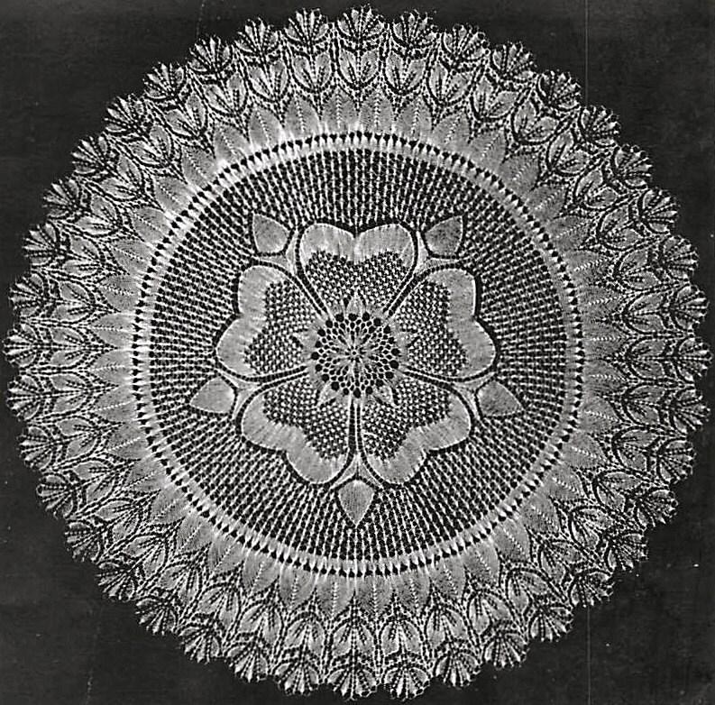 INSTANT DOWNLOAD Vintage Knitting Pattern pdf beautiful