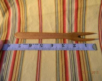 Handcarved Butternut Fork