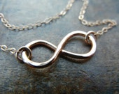 Infinity Necklace- Available in Silver, Rose Gold Fill and Gold Fill