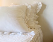 IRIS... BED PILLOW covers.....set of 2